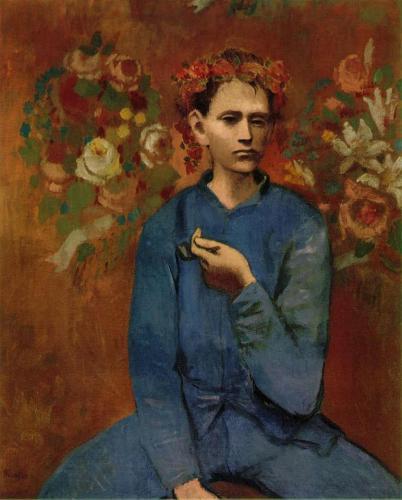 Pablo Picasso, Baiat cu pipa