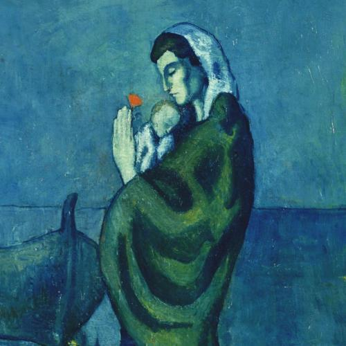 Pablo Picasso, Mama cu copil la malul marii