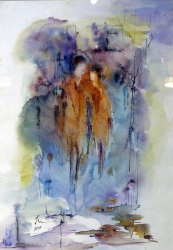 Smaranda Popescu - Acuarela