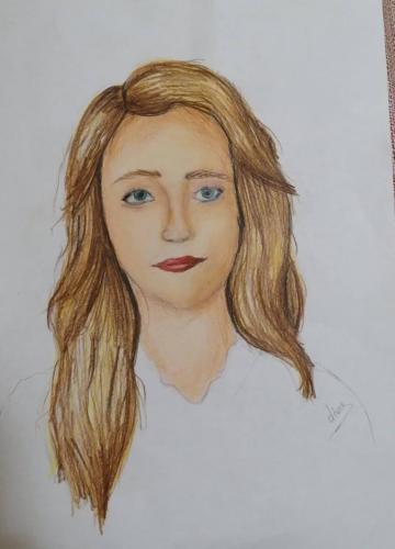 Diana_H_portret_in_creioane_colorate