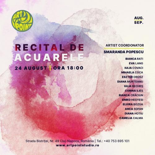 Recital Acuarele Poster