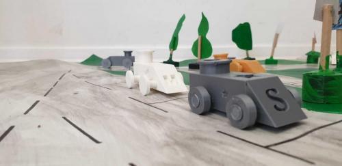 masinute modelate 3D